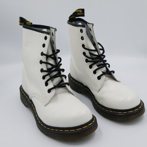 Dr. Martin's White lace up